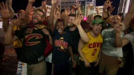 Cleveland Cavaliers win NBA Championship