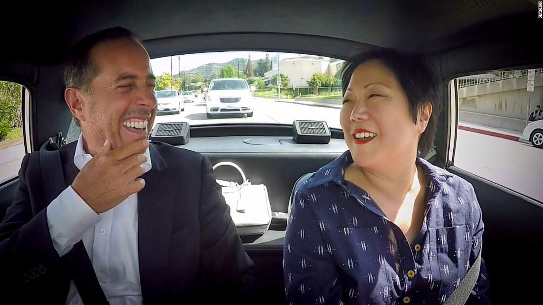 Jerry Seinfeld grabs coffee with Margaret Cho and it gets serious