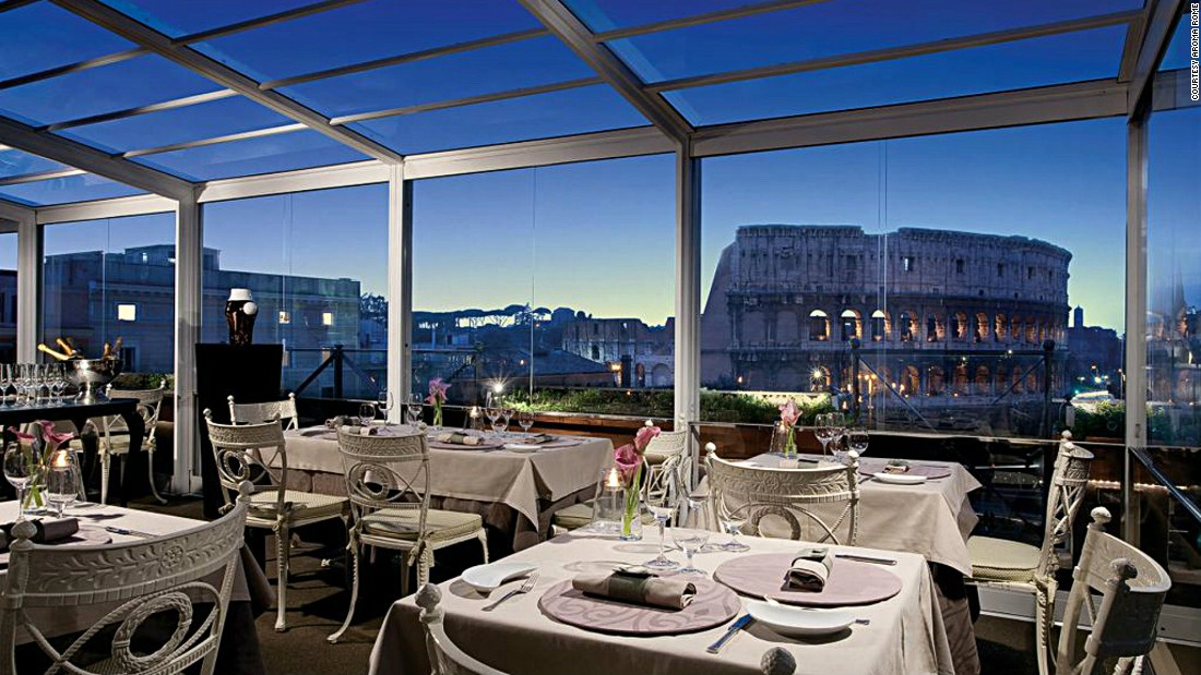 49 stunning rooftop bars and restaurants cnn travel - Blue Restaurant Design