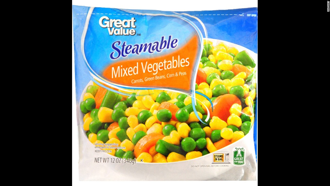 Frozen mixed vegetables and peas packaged by Bountiful Harvest, First Street, Great Value, Live Smart, Market Pantry and Sprout between the dates of September 2 and June 2 have been recalled due to listeria fears.