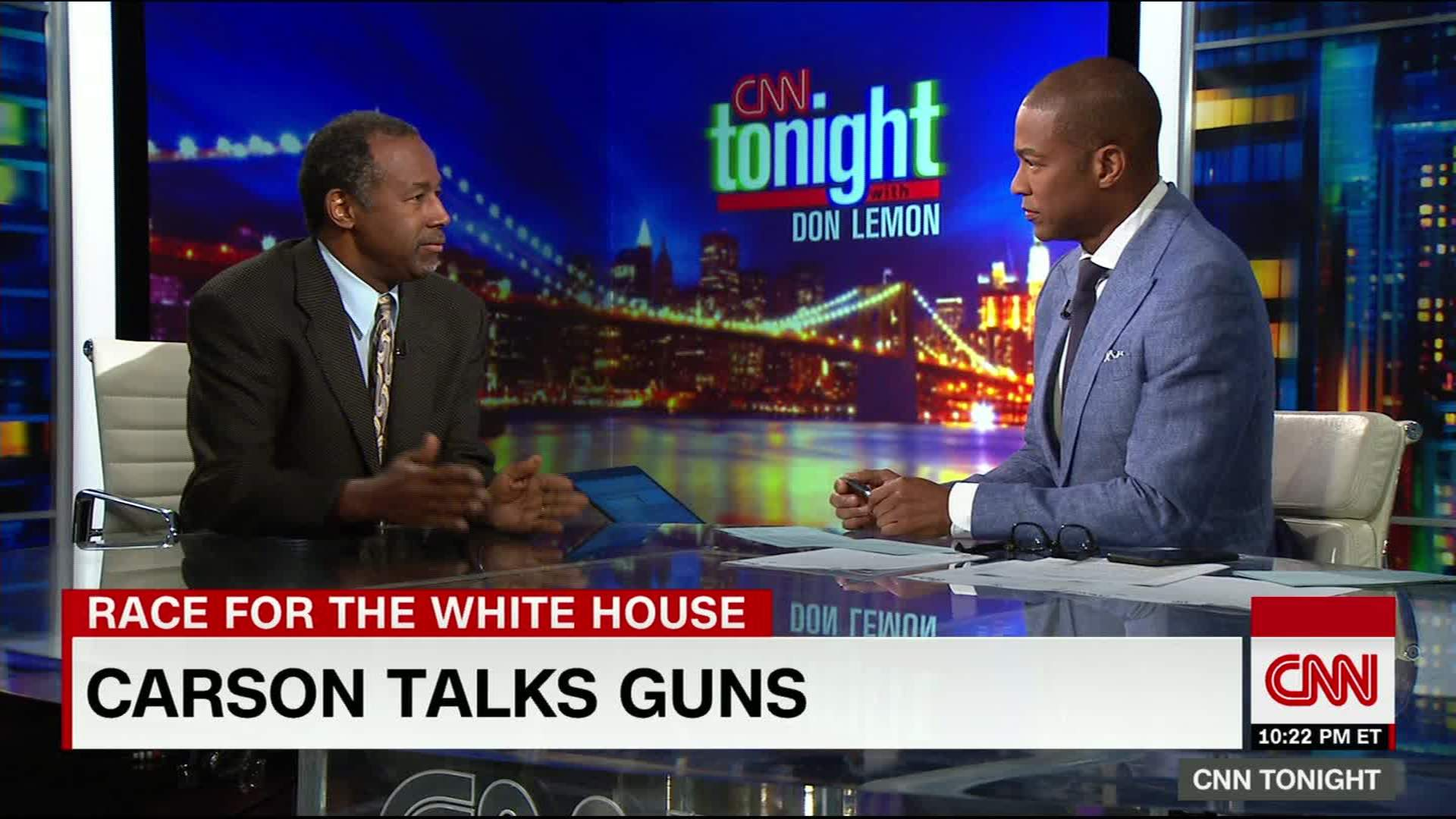 Ben Carson The 2nd amendment is not about deer hunting CNN Video