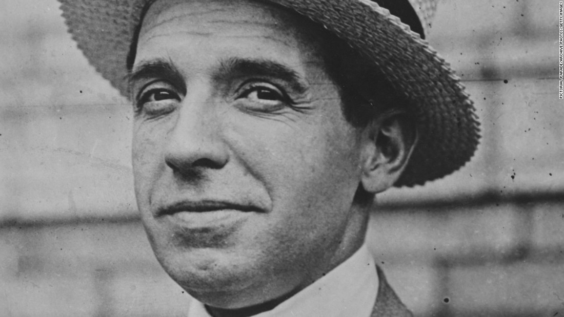 Charles Ponzi is one of history's famous liars, jailed in 1920 after the collapse of his fraudulent investment scheme. Similar swindles have since been known as Ponzi schemes.