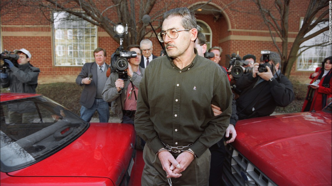 Another famous case involved Aldrich Ames, a CIA officer who was given a life sentence after it was discovered he'd been spying for the former Soviet Union since 1985, receiving $1.5 million in the process.