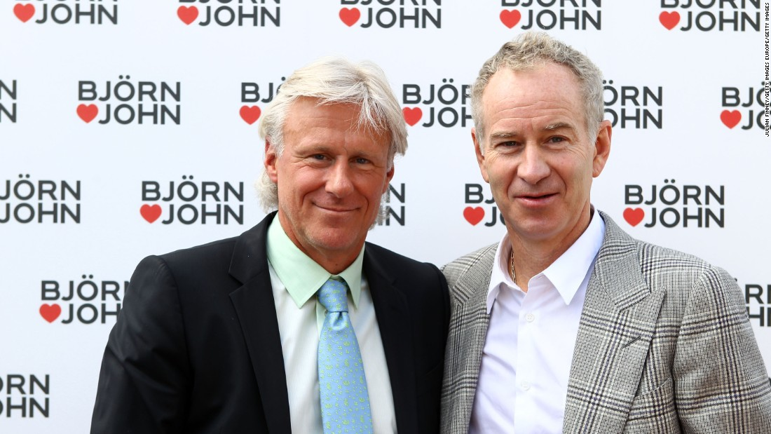 "<a href=""http://edition.cnn.com/2011/SPORT/tennis/07/18/tennis.borg.cash.interview/"">Borg said McEnroe called him repeatedly</a> asking him to reconsider his retirement -- he missed their rivalry. Later, in 2011, the pair teamed up to launch an underwear collection for the Bjorn Borg clothing brand."