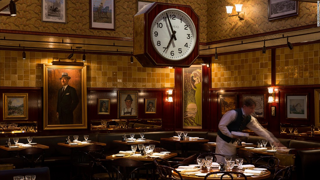"<a href=""https://www.fischers.co.uk/"" target=""_blank"">Fischer's</a> wouldn't have looked out of place in Vienna at the turn of the last century. In fact it's only been serving classic Austrian dishes in London's Marylebone area for a couple of years."
