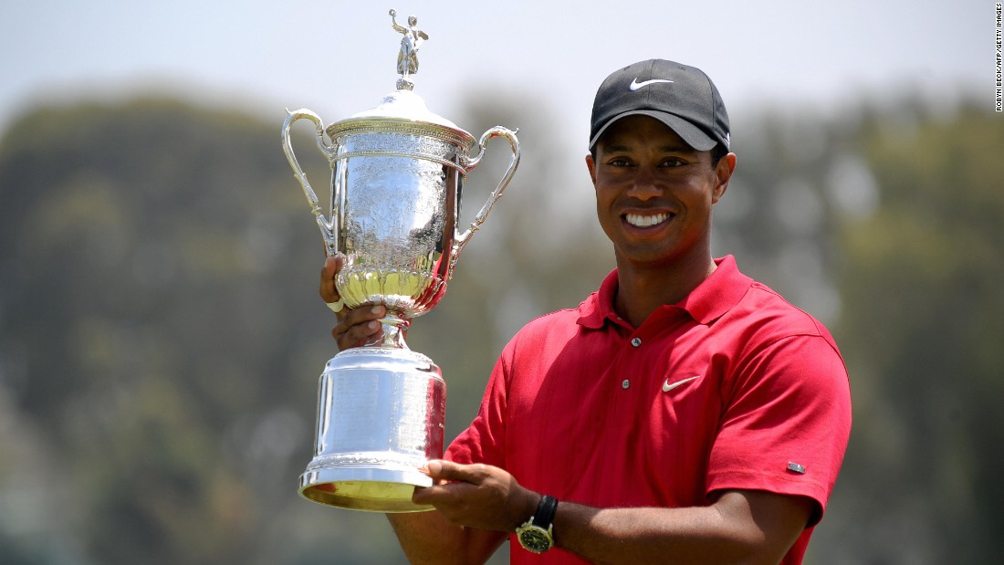 "Woods won the the U.S. Open  in 2008 -- his last major victory to date. He missed tournament in July 2011, <a href=""http://edition.cnn.com/2011/SPORT/golf/06/07/golf.tiger.usopen.injury/index.html"">citing knee and Achilles tendon injuries</a>."