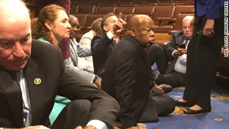 GOP fails to stop Democrats' gun protest sit-in on House floor