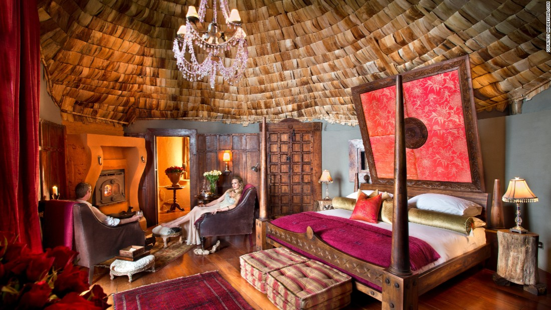 "Safari is the main attraction for guests staying at <a href=""http://www.andbeyond.com/ngorongoro-crater-lodge/?gclid=CN3R0Iv-u80CFY4y0wodGLMNuA"" target=""_blank"">this hotel</a> -- the key destinations are Lake Manyara, the Serengeti and the Ngorongoro Crater. The lodge is decorated in the style of a baroque chateau with brocade sofas, gilt mirrors, beaded chandeliers and paneled walls."
