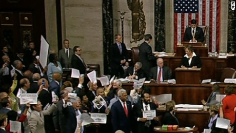 House adjourns amid gun control sit-in