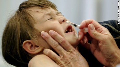 CDC panel recommends against using FluMist vaccine