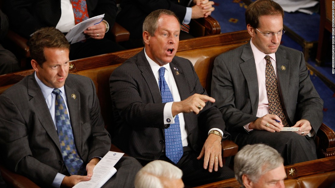 It was the shout heard around the world. When Republican Rep. Joe Wilson from South Carolina called Obama a liar while the President was addressing a joint session of Congress in September of 2009, even Obama was stunned. Wilson's outburst was an ominous foreshadowing of what was to come.