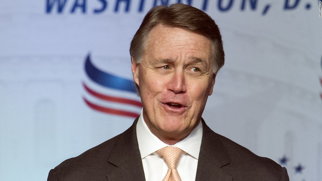 "At a meeting of conservative Christians in 2016, Georgia Republican Sen. David Perdue jokingly told the audience that they should pray for Obama and suggested a psalm that said ""may his days be few."" The audience laughed and applauded."