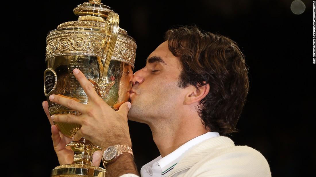 In 2012, Federer won a record-equaling seventh Wimbledon title, matching his childhood hero Pete Sampras and 1880s star William Renshaw.