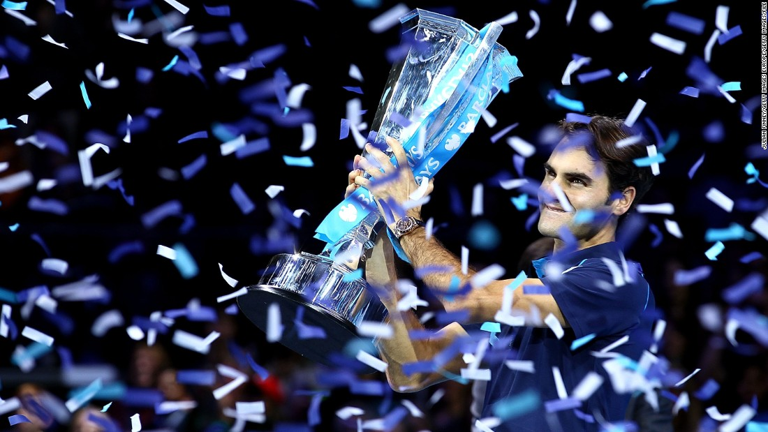 Federer has won the season-ending ATP championship a record six times.