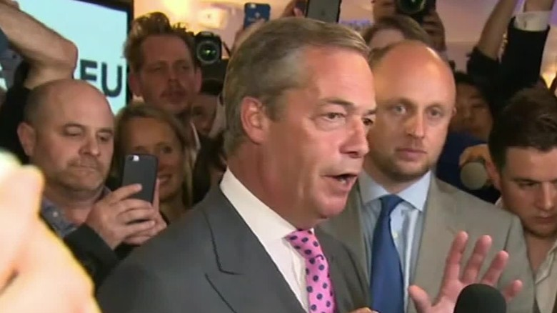 Farage: We are winning this war