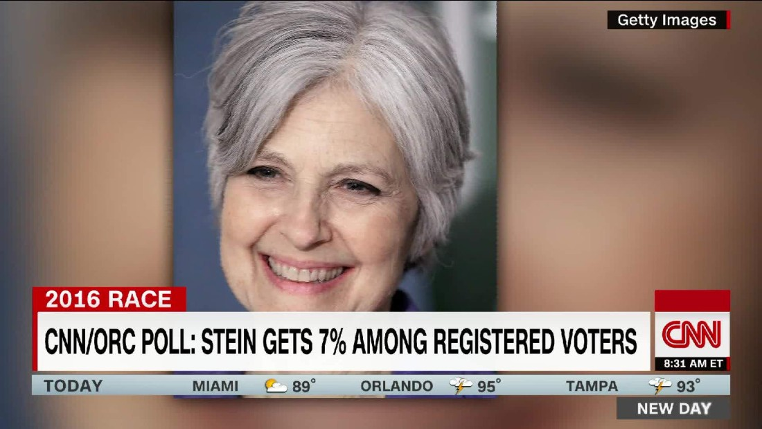 Green Party candidate Jill Stein names running mate