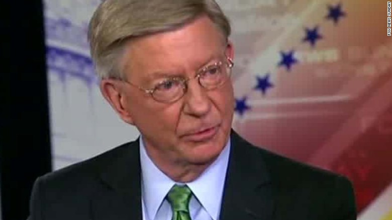 George Will Trump comments exit GOP_00003112