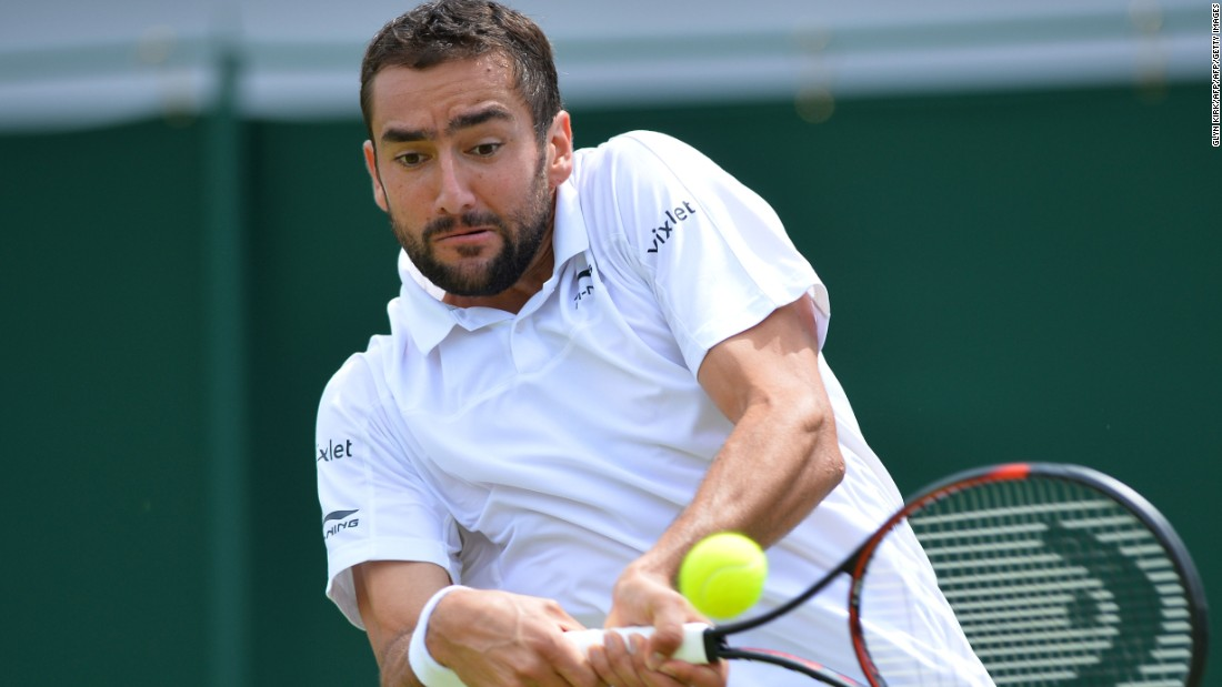 Croatian ninth seed Marin Cilic won 6-3 7-5 6-3 against U.S. player Brian Baker -- who is making yet another comeback this year from long-term injury problems.