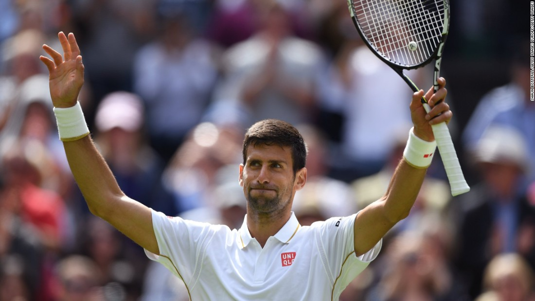 However, Ivanovic's compatriot, men's defending champion and world No. 1 Novak Djokovic, breezed through his first-round match against James Ward of Britain, winning 6-0 7-6 (7-3) 6-4.