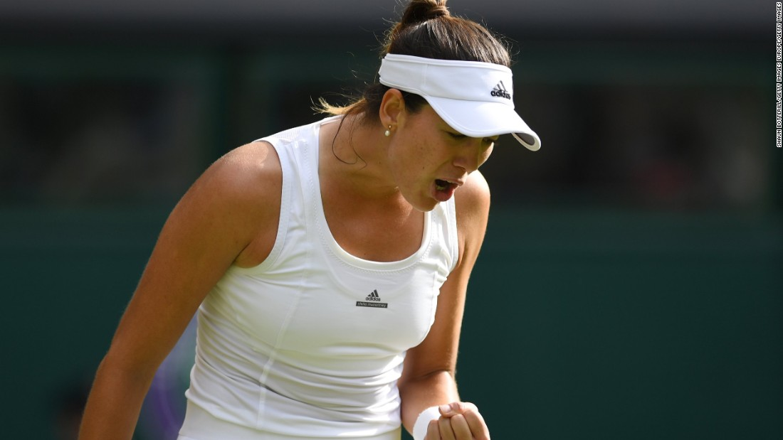 Muguruza is attempting to become just the second Spaniard to win Wimbledon, after Conchita Martinez in 1994.