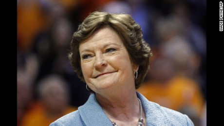 Legendary coach Pat Summitt