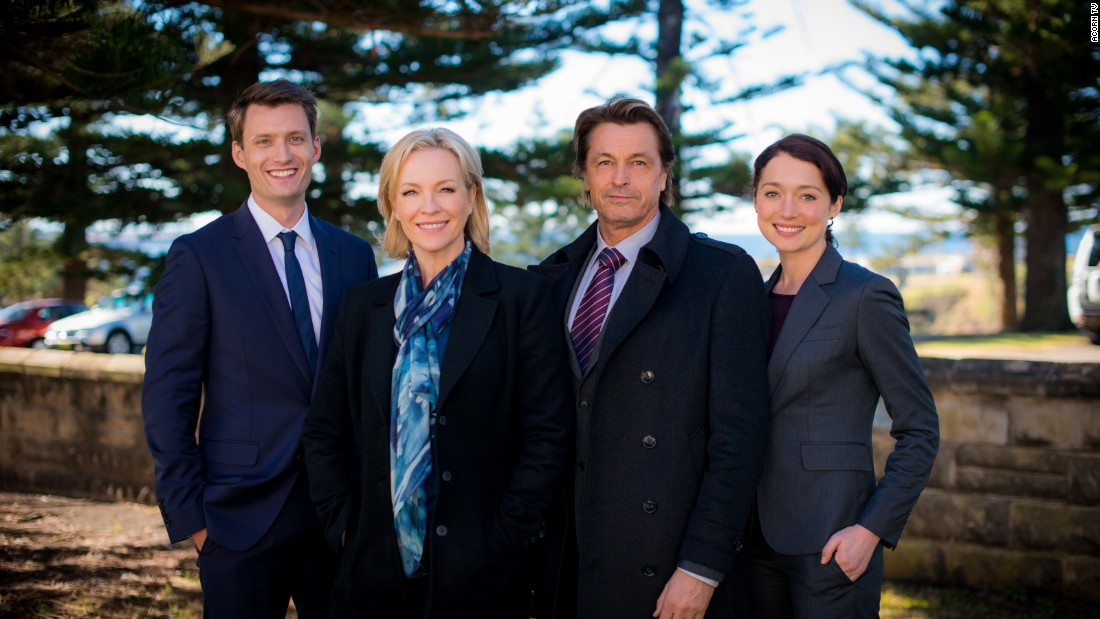 "<strong>""Winter/The Killing Field""</strong>: Rebecca Gibney stars as Detective Eve Winter in this gripping Australian murder mystery series. <strong>(Acorn TV)</strong>"