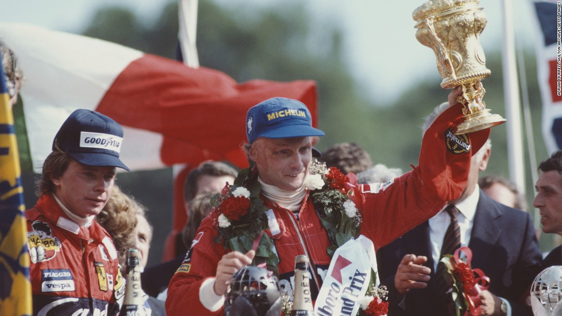 "Three-time F1 champion Niki Lauda was critically burnt in a near-fatal crash at the Nürburgring 40 years ago. Nonetheless, he believes ""too much safety will destroy the sport.""<br />"