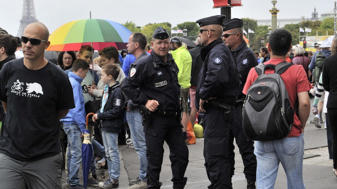 Tour organizers have stepped up security and the police presence ahead of this year's race with the promise to deploy over 23,000 officers, including members of the French Special Forces, on the route.