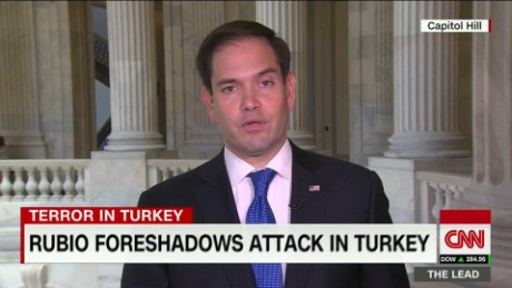 Rubio says he believes ISIS directed Turkey attack