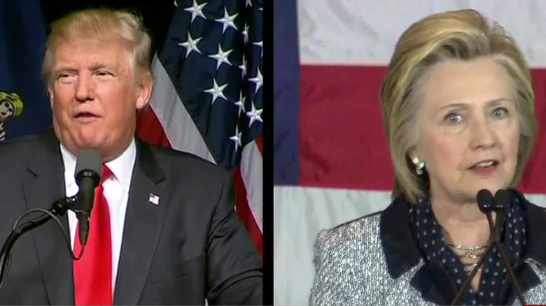 Clinton and Trump and the 'commander-in-chief test'