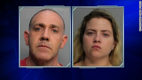 Miami-Dade Police said Luis Hernandez-Gonzalez and his sister, Salma Gonzalez, are under arrest for drug trafficking, possession.