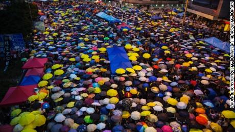 2014's Umbrella Movement was a pivotal moment for Hong Kong's democracy movement.