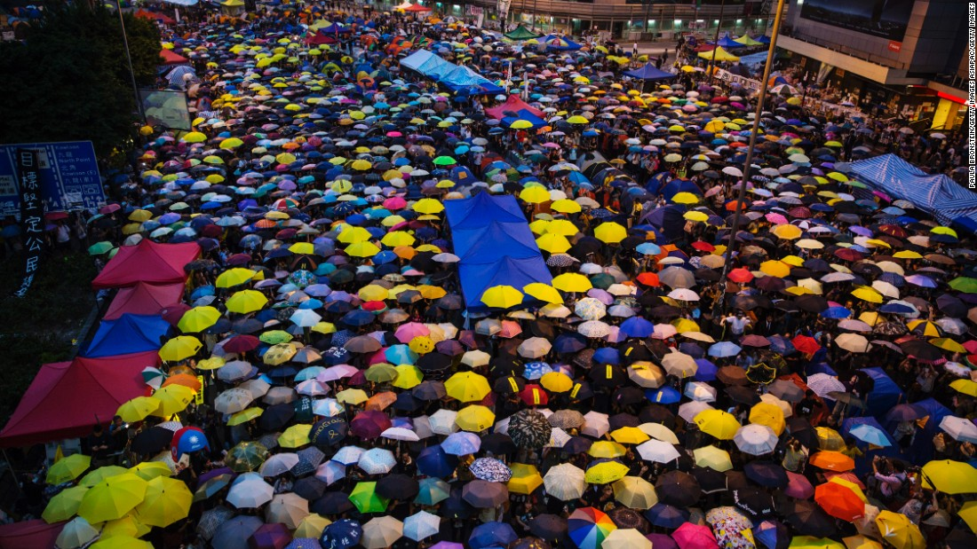 "Hundreds of thousands of people took to the streets of Hong Kong in 2014 to protest for democracy. How has the city's political scene changed since the ""Umbrella Revolution?"""