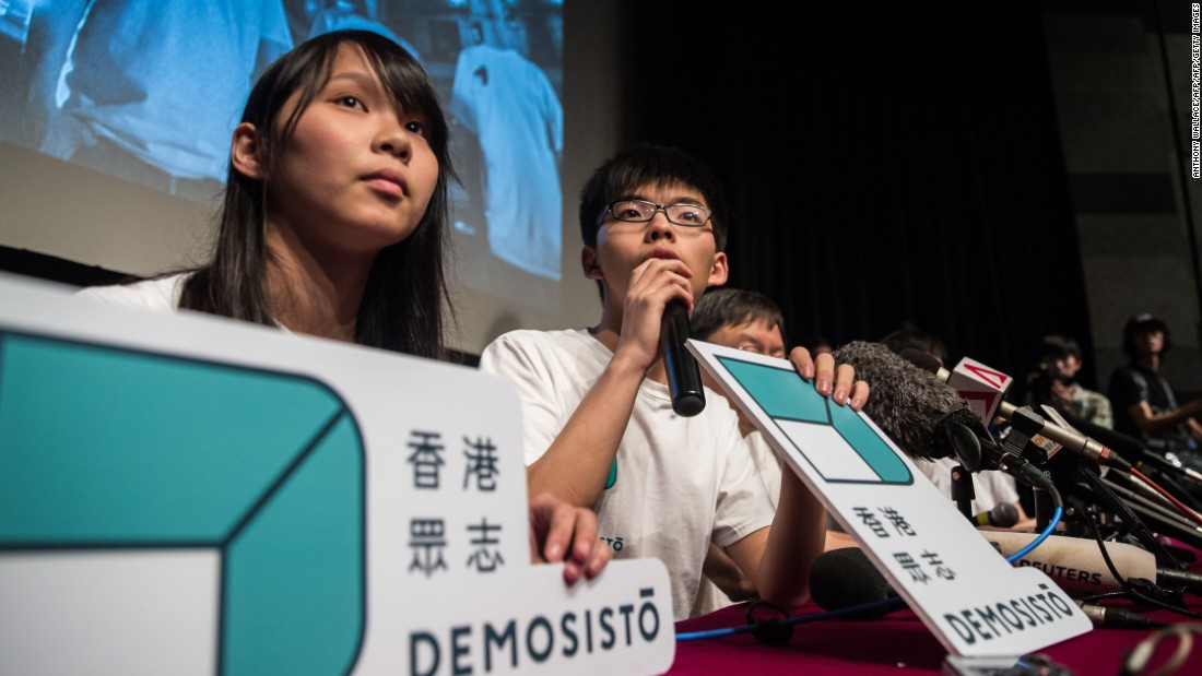 "<strong>New parties:</strong> Multiple new groups -- many founded by former Umbrella Movement leaders <a href=""http://cnn.com/2016/04/07/asia/demosisto-joshua-wong-hong-kong/"">such as Joshua Wong</a> -- say they will contest the September 2016 Legislative Council (LegCo) elections, leading to fears they will split the pan-democratic vote."