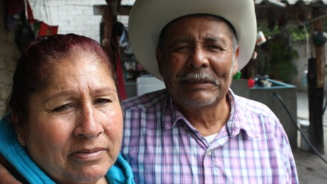 Artemio and Martha Mendoza rely on wire transfers from their son Juan who lives in Chicago.