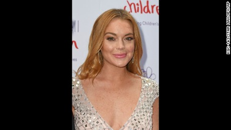 Lindsay Lohan is in a good place these days.