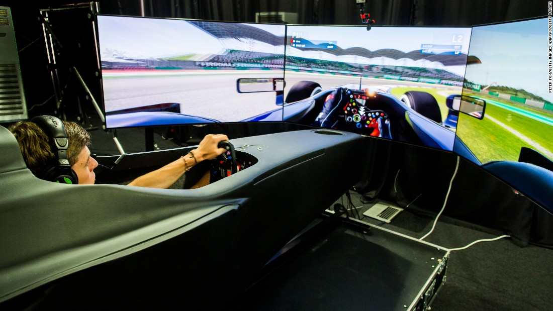 The Video Game That Trains F1 World Champions Cnn