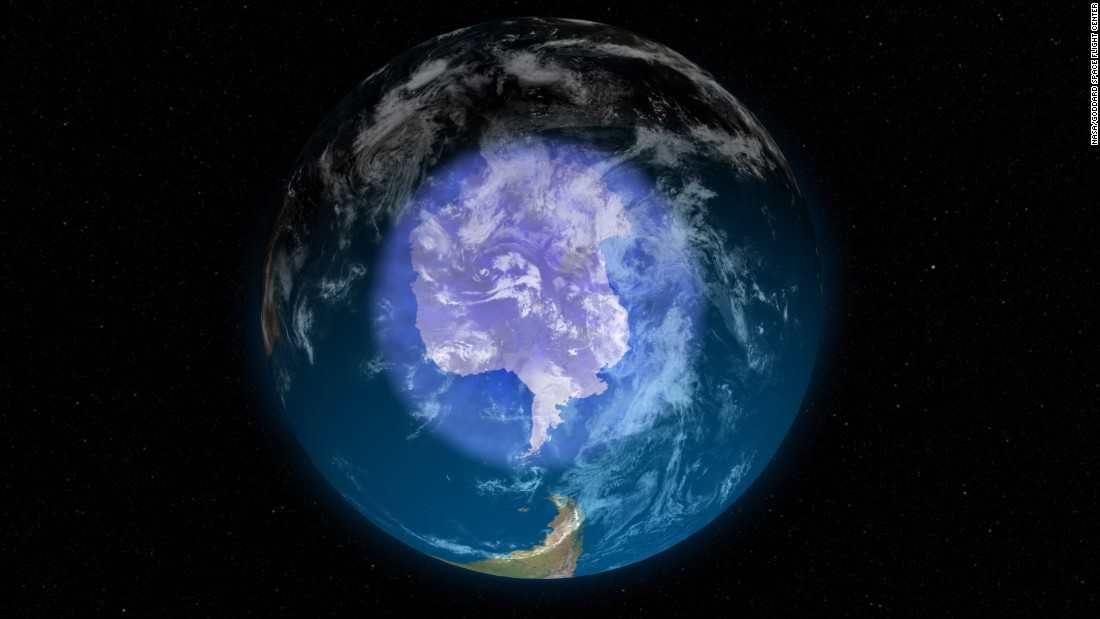 Antarctic ozone layer is gradually healing, researchers find