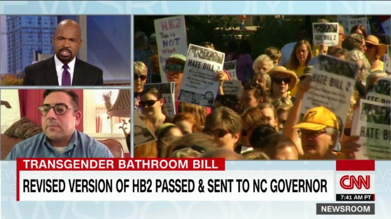 Lawmakers tweak HB2, leave restroom rules intact