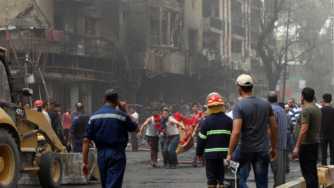 Baghdad bombing kills at least 200; ISIS claims responsibility