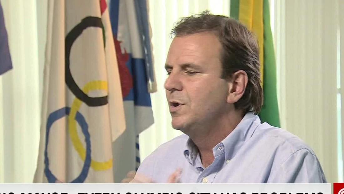 Rio mayor: State doing a 'terrible, horrible job' before Olympics