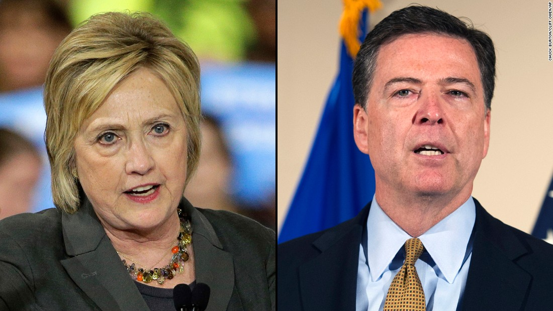 FBI director to testify before Congress about Clinton's email investigation