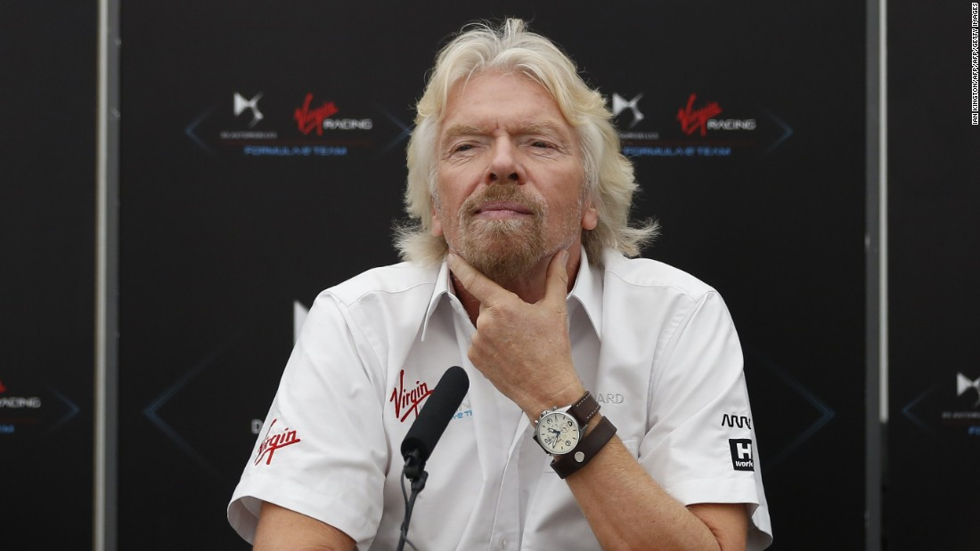 Virgin Group boss Richard Branson is a committed supporter of Formula E.