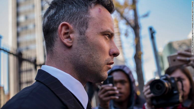 Pistorius sentenced to 6 years in prison