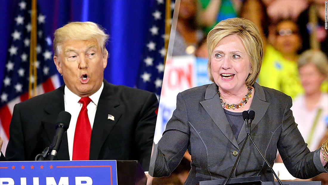 Clinton's lead over Trump grows in new national polls