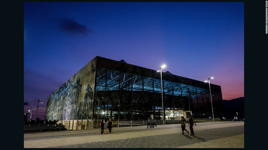 "Experts suggest Rio's Olympic Park venues will be functional, if not spectacular. The Aquatics Stadium is described by its own architects as ""basically a glass box."""