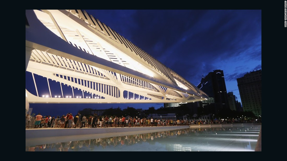 Spanish architect Santiago Calatrava designed the Museum of Tomorrow, which was opened in December last year.<br />