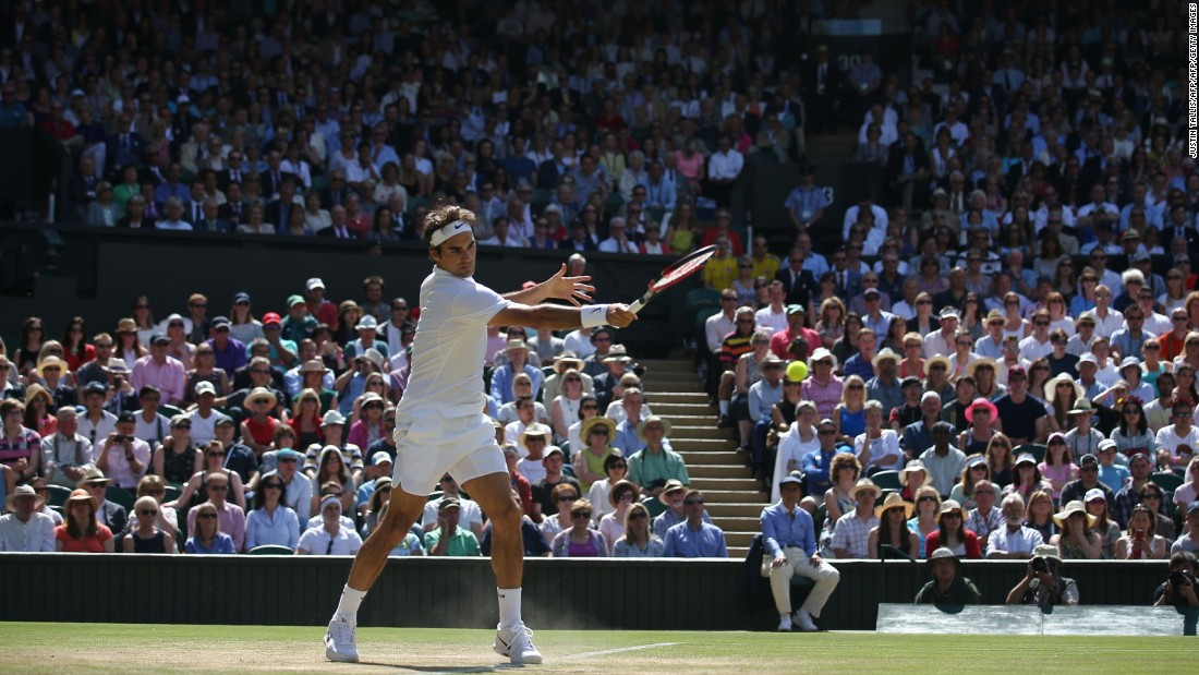 "A whopping 27 aces and zero double-faults got the great man out of hot water when it mattered most. <a href=""http://edition.cnn.com/2016/06/28/tennis/roger-federer-tennis-wimbledon-statistics/"">Find out the numbers behind a tennis genius, here</a>."