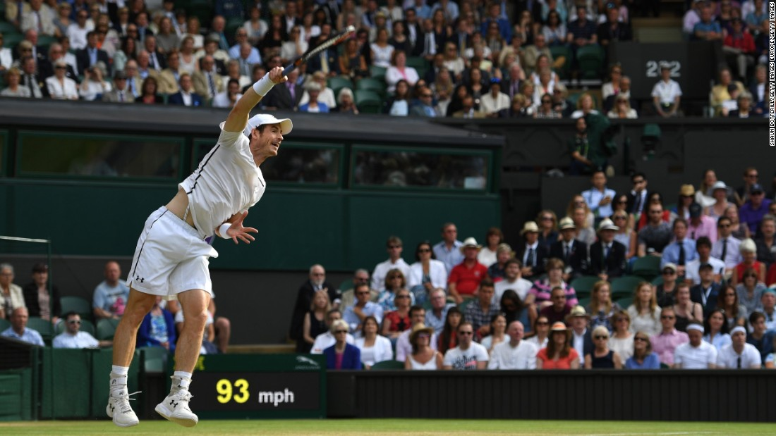 Elsewhere, targeting a second Wimbledon title, British hope Murray defeated Jo-Wilfried Tsonga in another five-setter.