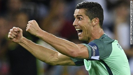Cristiano Ronaldo and Portugal will meet France in the final.